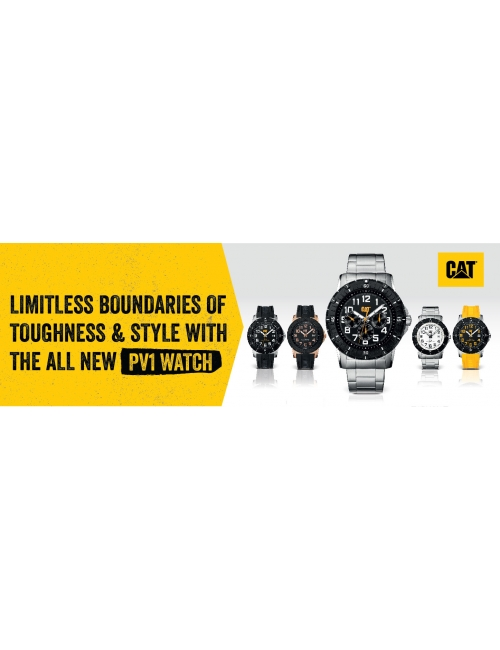 CAT ALL NEW PV1 WATCH -Limitless Boundaries of Toughness & Styles