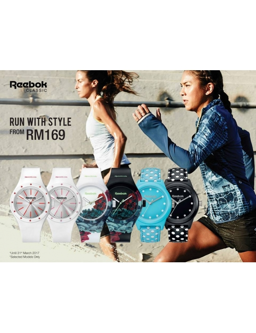 Reebok Promo-Run with Style from RM169 Only!
