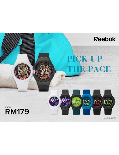 Pick Up The Pace-Reebok April Promo