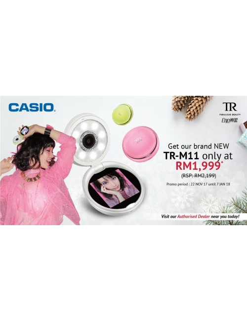 Christmas Promotion-Take advantage of the fab offer of our brand new TR Mini M11 at RM 1,999 only before the promo ends by 7th Jan 2018!